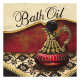 Bath Oil Posters by Gregory Gorham