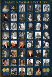 Famous Women Writers Affiches