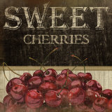 Sweet Cherries Print by Jennifer Pugh