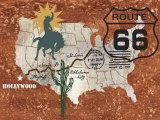 Retro Roadtrip I Poster by James Nocito