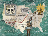 Retro Roadtrip II Print by James Nocito
