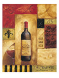 Chateau Vin Reproduction procédé giclée par Gregory Gorham
