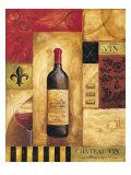 Chateau Vin Reproduction procédé giclée par Gregory Gorham