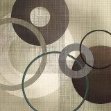 Hoops 'n' Loops I Poster by Tandi Venter