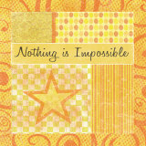 Nothing Is Impossible Posters par Louise Carey