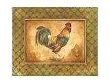 Country Rooster I Giclee-tryk i høj kvalitet af Gregory Gorham