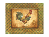 Country Rooster I Premium Giclee Print by Gregory Gorham