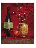 Persian Gardens III Premium Giclee Print by Selina Werbelow