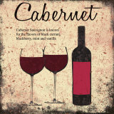 Cabernet Prints by Louise Carey