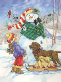 Frosty Morning Greeting Posters par Donna Race