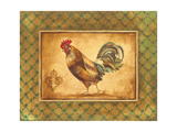 Country Rooster II Giclee Print by Greg Gorham