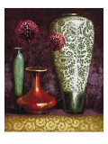 Persian Gardens IV Premium Giclee Print by Selina Werbelow