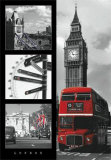 Londres – Bus rouge Posters