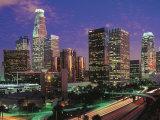 Los Angeles, California Fotografie-Druck von Jerry Driendl