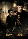 Filmposter Twilight, New Moon, 2009 Poster
