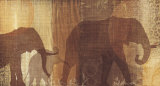 Safari Silhouette IV Posters by Tandi Venter