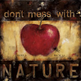 Don't Mess with Nature Art by Wani Pasion
