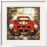 Ferrari Posters por Sergio Lombardino