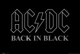 AC/DC - Back in Black Posters