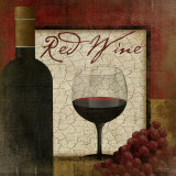 Red Wine Prints by Jennifer Pugh