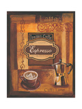 Italian Caffe Premium Giclee Print by Gregory Gorham