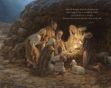 Nativity Poster by Jon McNaughton