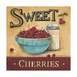 Sweet Cherries Premium Giclée-tryk af Gregory Gorham