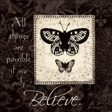 Believe Poster by Jo Moulton