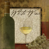 White Wine Poster by Jennifer Pugh
