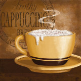 Frothy Cappuccino Prints by Kathy Middlebrook