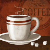 Gourmet Coffee Prints by Kathy Middlebrook