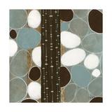 Stones Throw I Premium Giclee Print by John Kime
