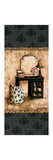 Vintage Vanity Panel II Premium Giclee Print by Gregory Gorham
