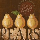 Juicy Pear Prints by Kathy Middlebrook