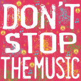 Don't Stop the Music Prints by Louise Carey