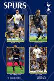 Tottenham Hotspur - Keane, Modric, Palacios, King Poster