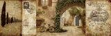 トスカーナの中庭 高品質プリント : キース・マレット