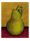 Pear Premium Giclee Print by John Kime