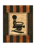 Shaving Premium Giclee Print by Gregory Gorham