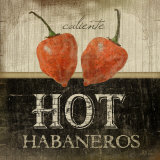 Hot Habaneros Posters by Jennifer Pugh