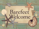 Barefeet Print by Stephanie Marrott