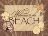 Beach Poster by Stephanie Marrott