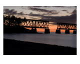 Bahia Honda Bridge Photographic Print by Susan Gottberg