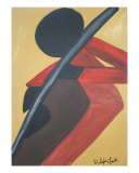 Mello Yello Cello Giclee Print by D SylverFoust
