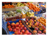 Cinque Terre Fruit Stand Photographic Print by Rae Anne Lawrason