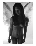 Fine Art Nude Angel Photographic Print by River Clark