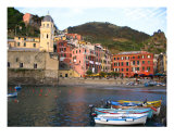 Vernazza Harbor, Cinque Terre Photographic Print by Rae Anne Lawrason
