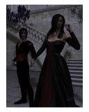 Vampire Heart Fotodruck von Robert Vieau