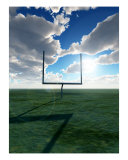 American Football Goal Photographic Print by Chris Harvey