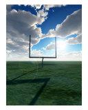 American Football Goal Photographic Print by Chris Harvey